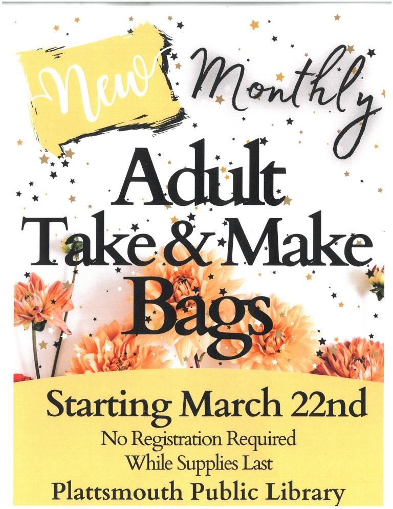 adult take make bags